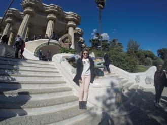 Parque Guell - Escadarias