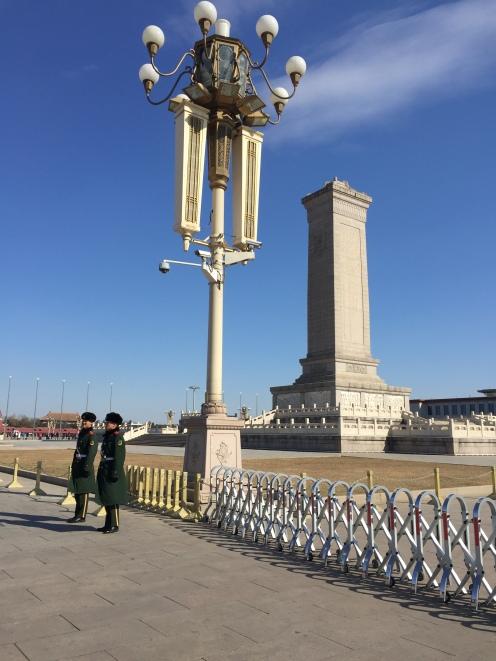 Visita a Tian'anmen