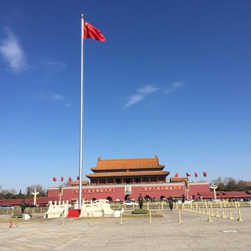 Visitando Tian'anmen