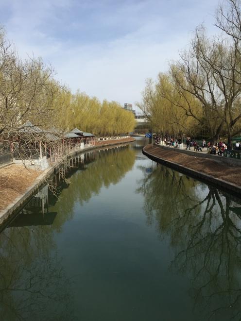 A visão do Beijing Zoo