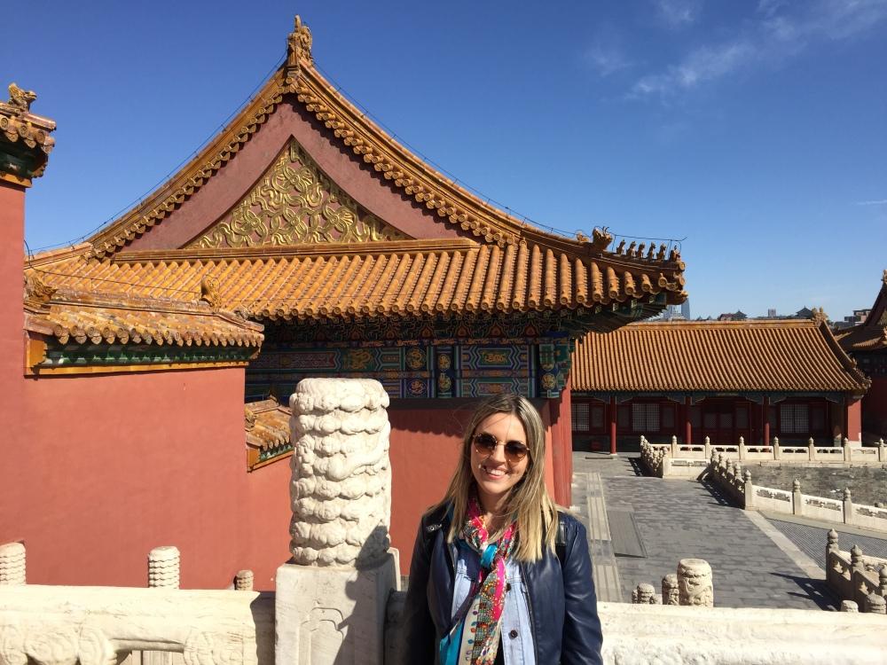 A cidade proibida em Pequim