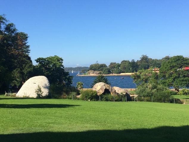 Vista do Jardim Botânico para a Baía de Sydney