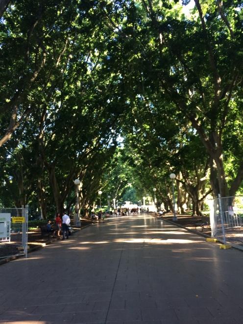 Hyde Park. Um dos parques mais famosos de Sydney