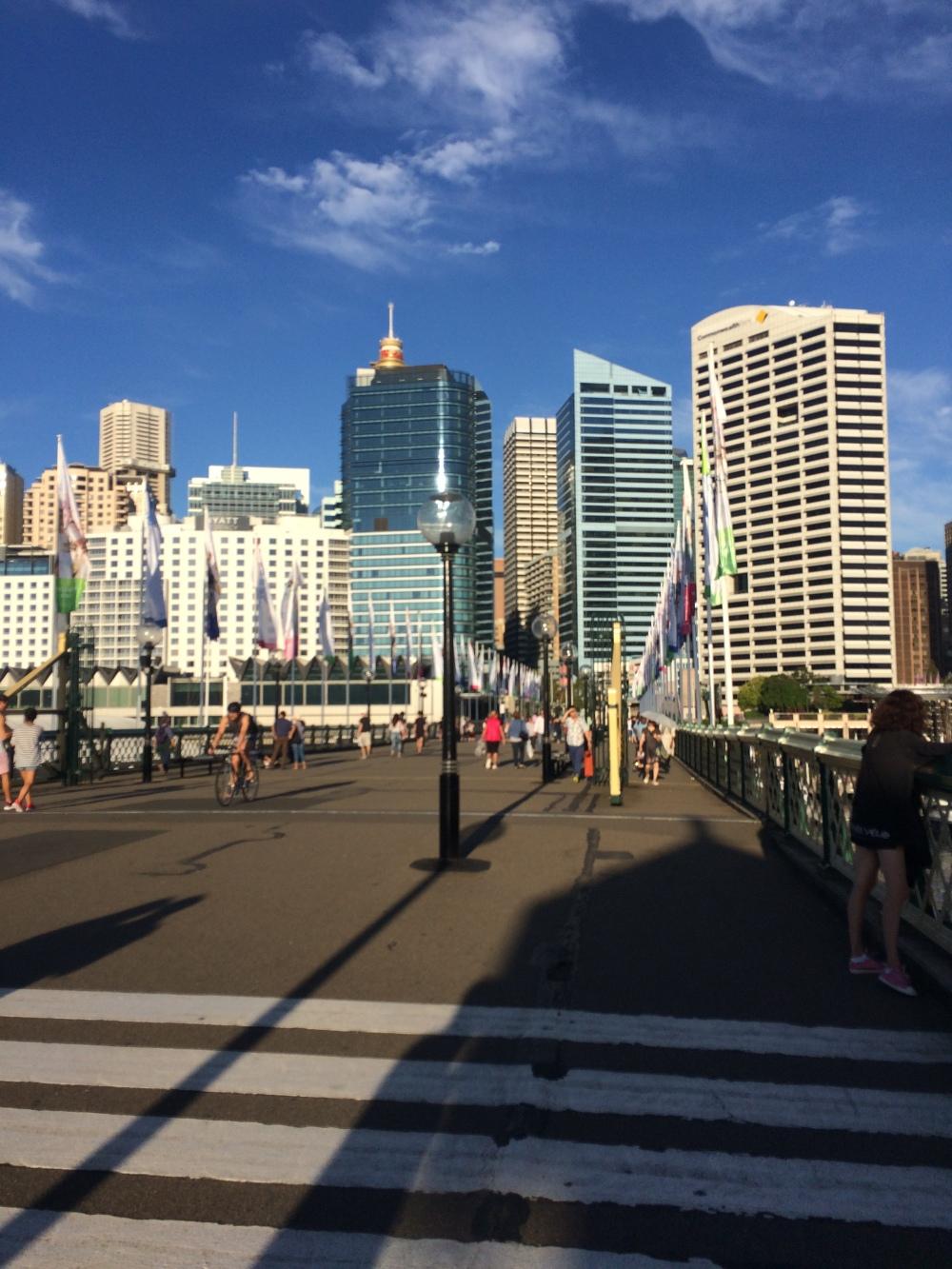 Vista da Ponte - Darling Habour