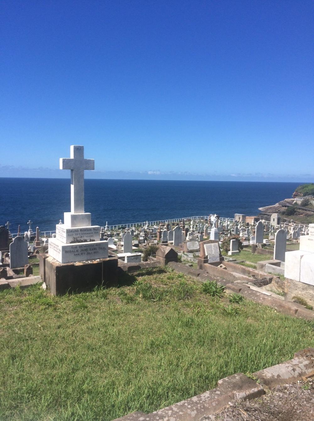 Cemitério na travessia