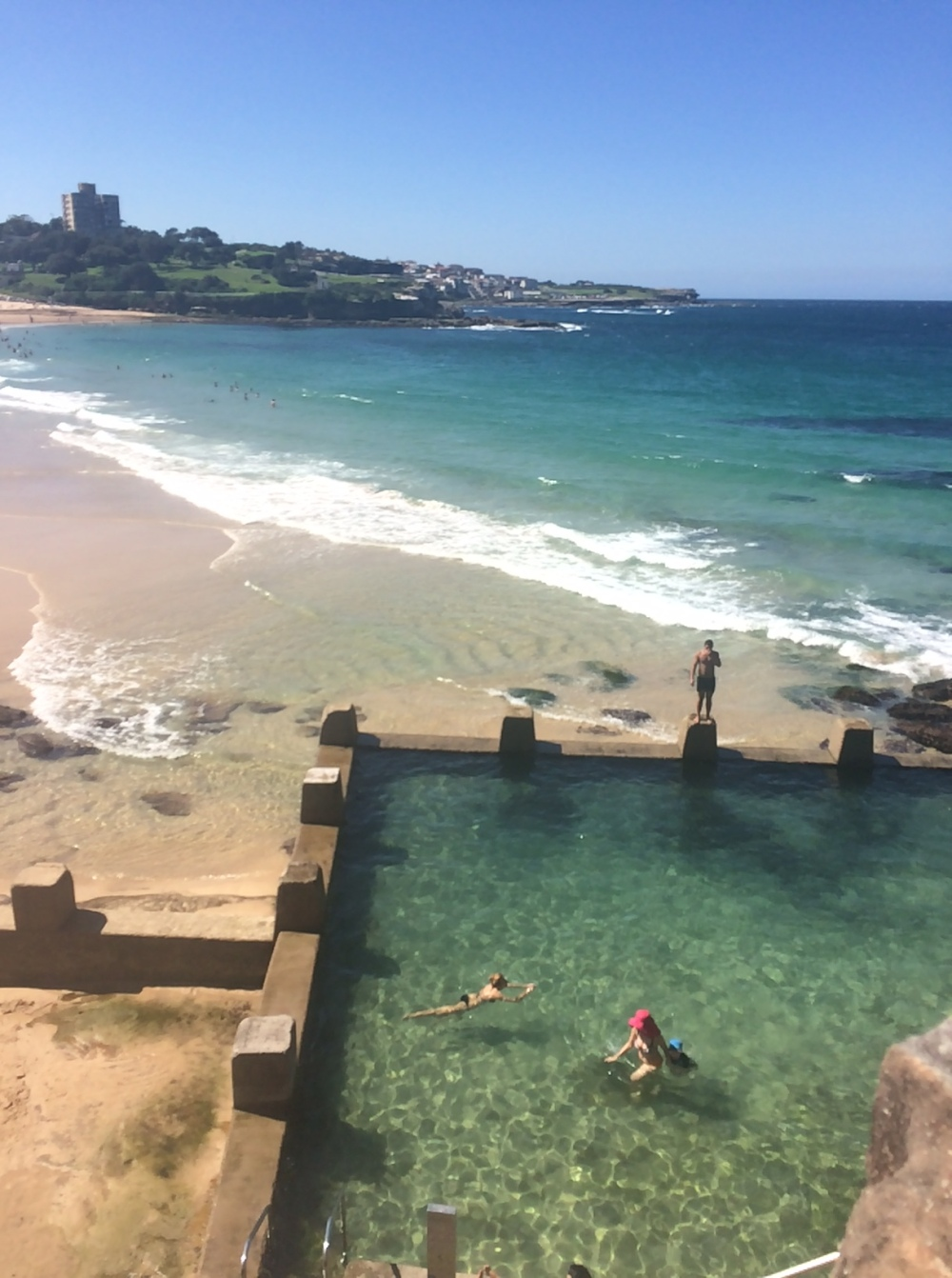 Coogee Beach: piscina
