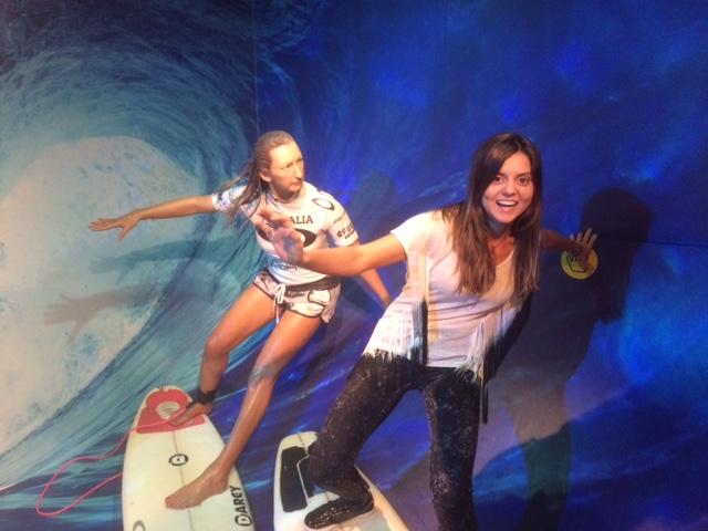 Surf em Sydney no Madame Toussand