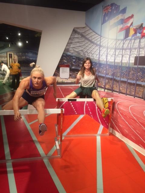 Museu de cera em Sydney e obstáculos