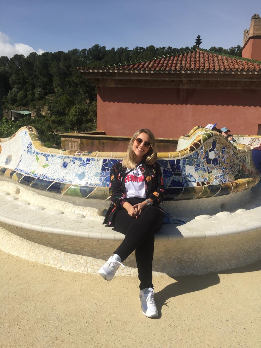 Park Güell: Obras Gaudí em Barcelona