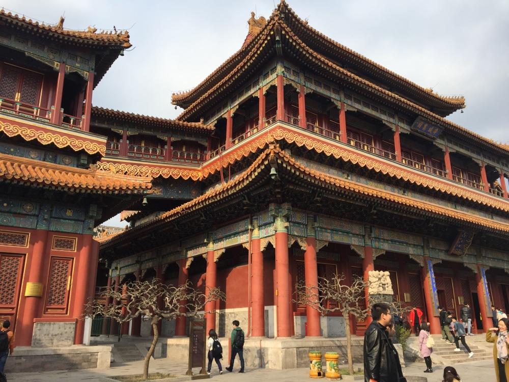 Templo budista em Pequim
