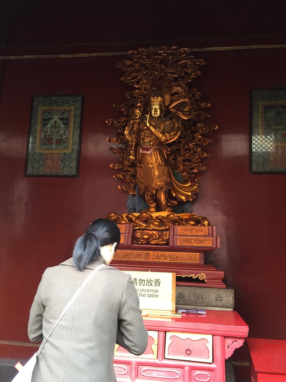 Maior Templo Budista da China