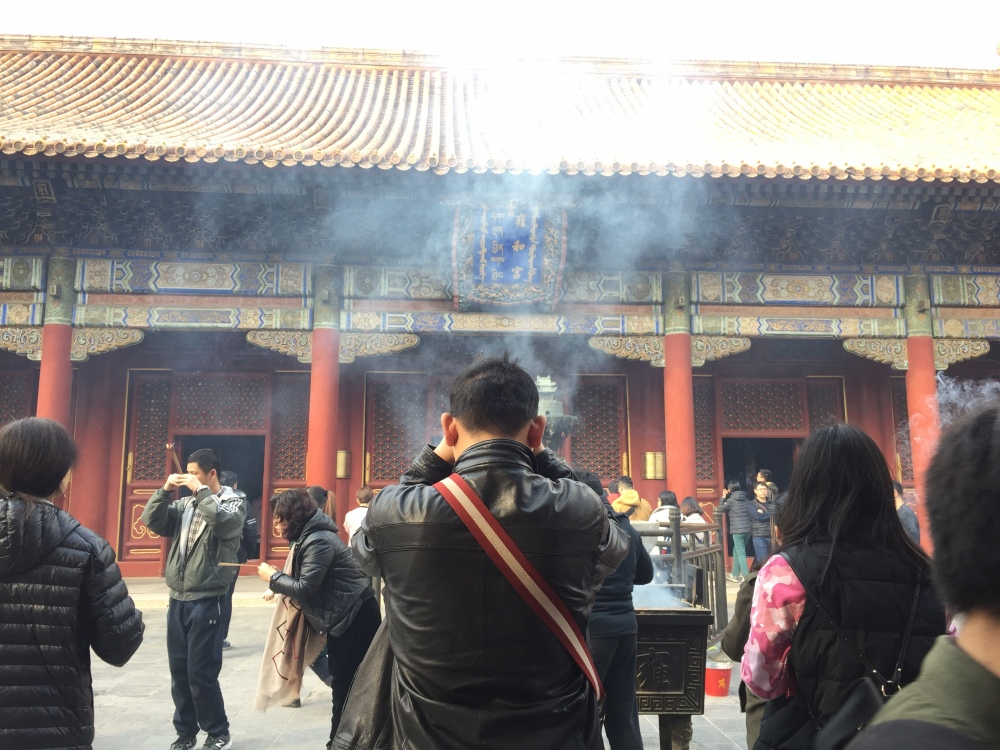 Yonghe Temple or Lama Temple, in China