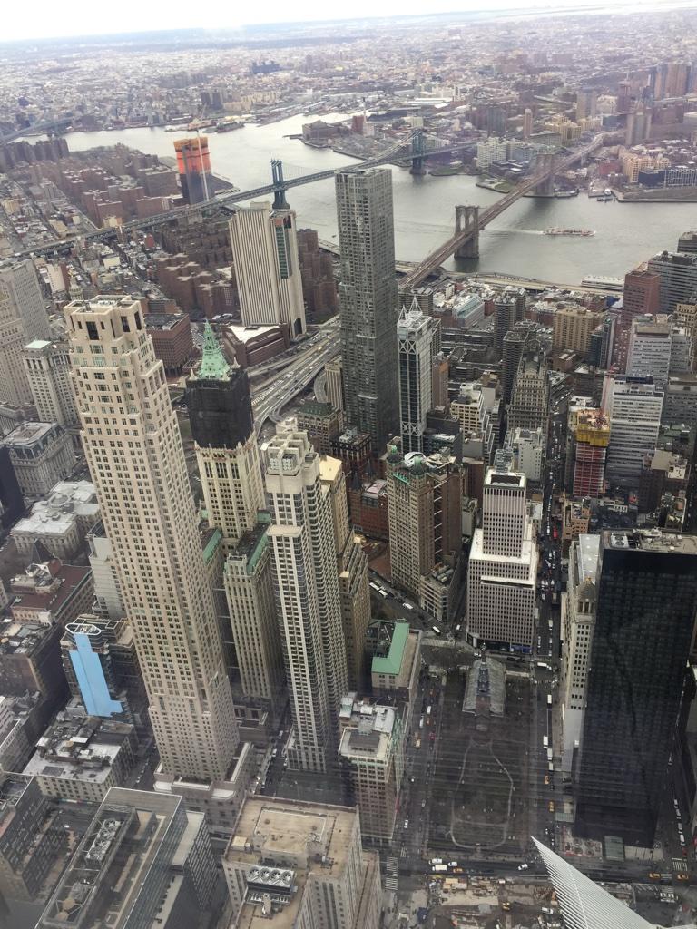 Estados Unidos, vista panorâmica de Nova Iorque