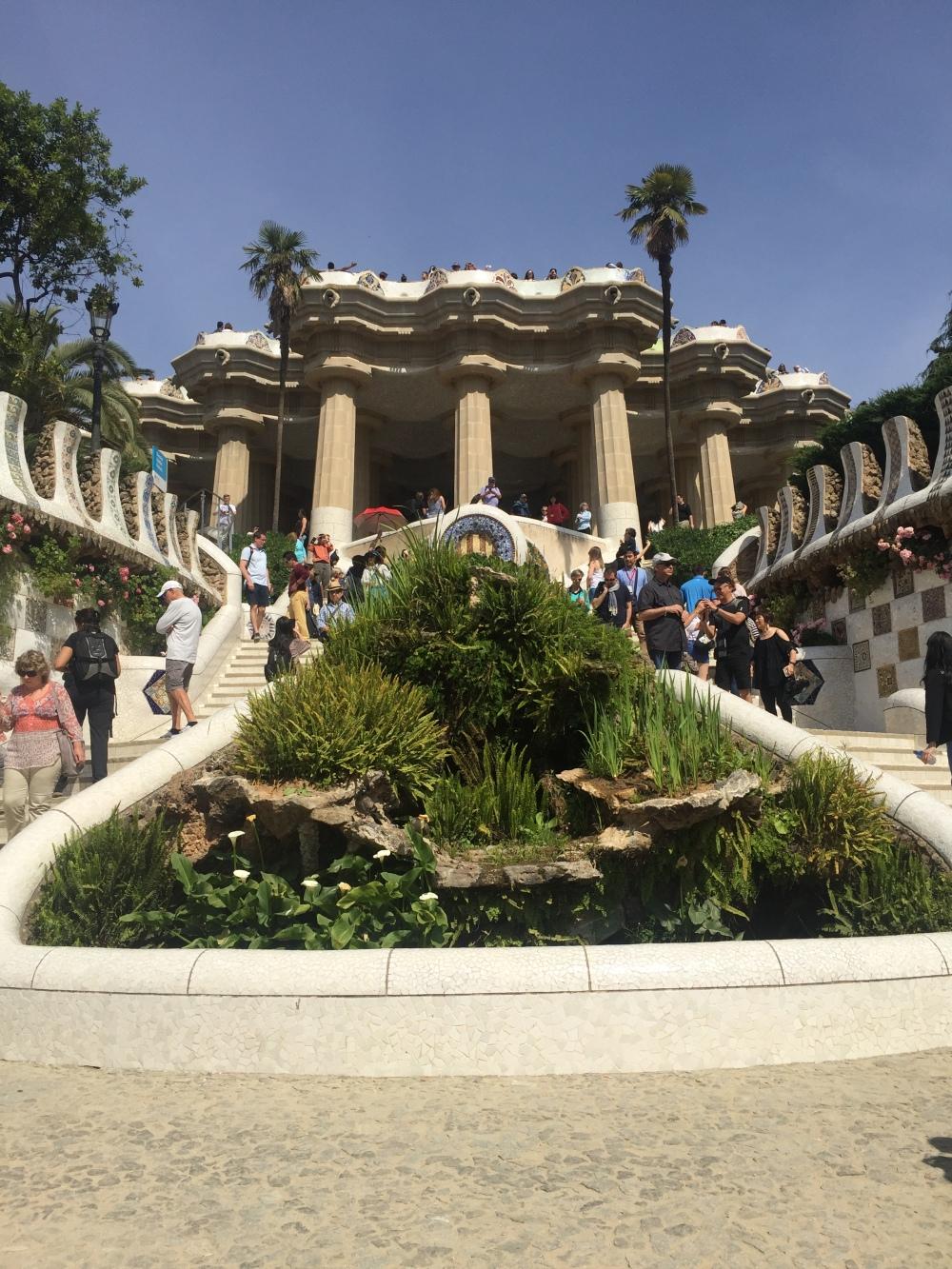 Barcelona, Escadaria, Gaudí