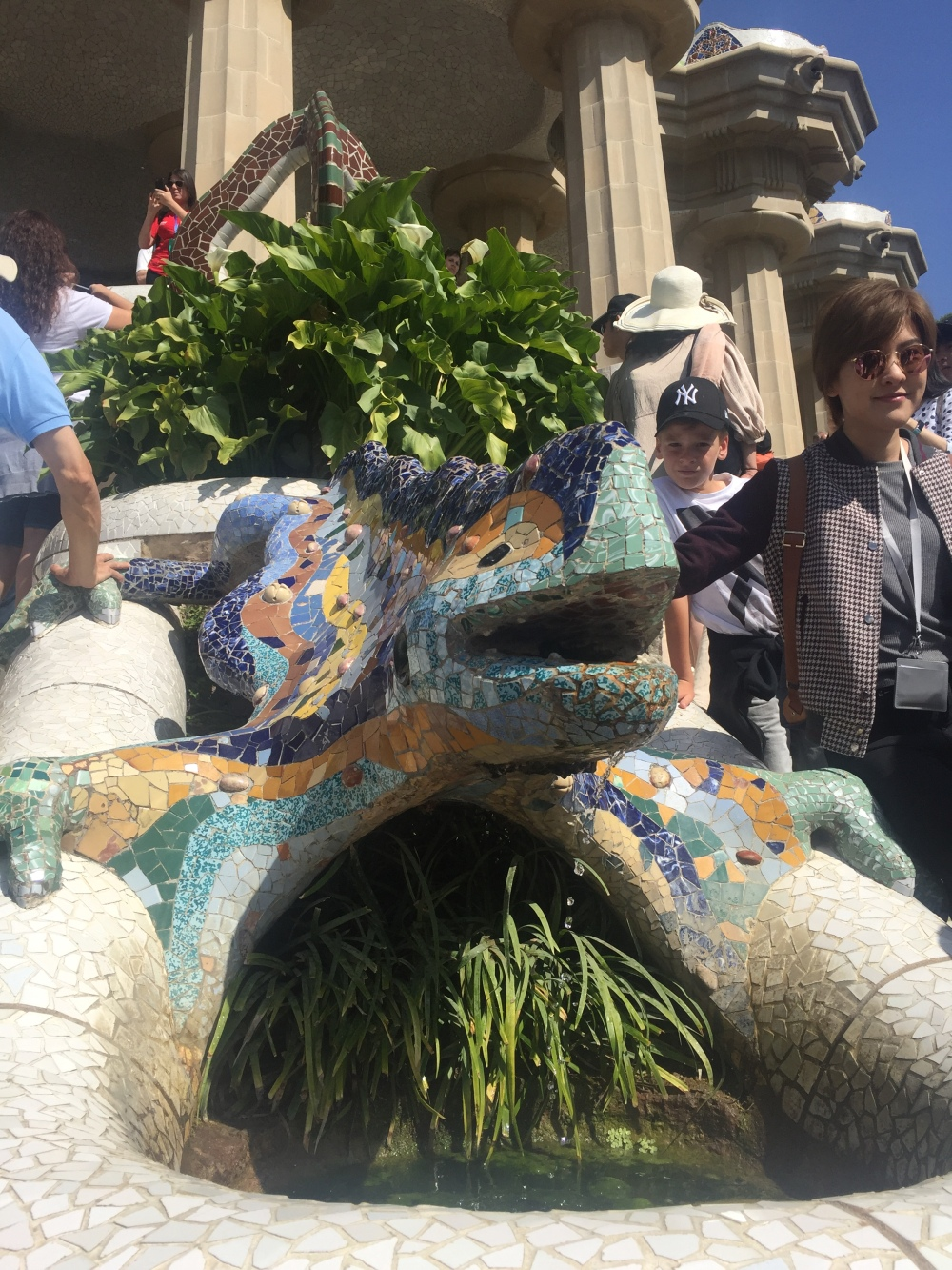 Dragão do Parque Güell