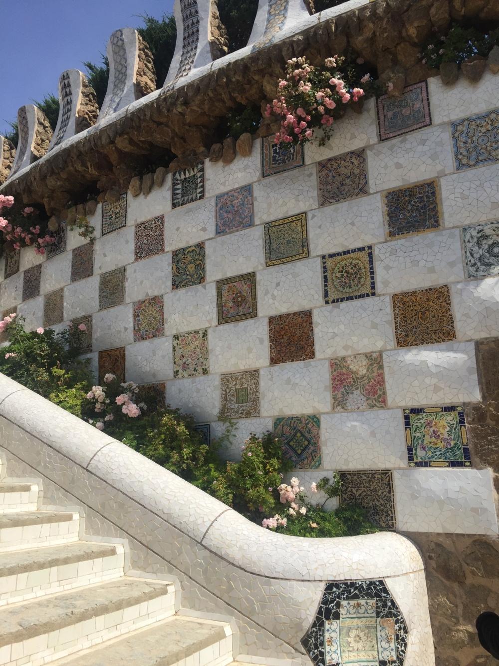 Parque Güell e a obra de Gaudí