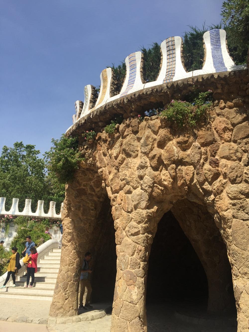 Parque Güell, Barcelona e obras de Gaudí