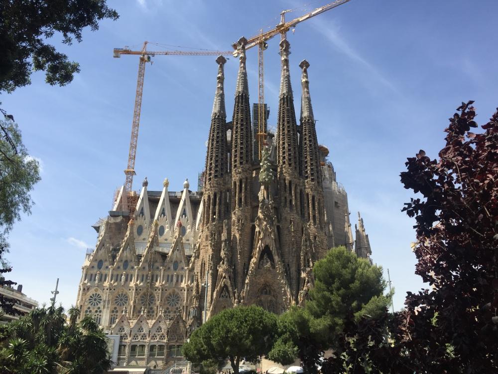 La Sagrada Família, España, Barcelona