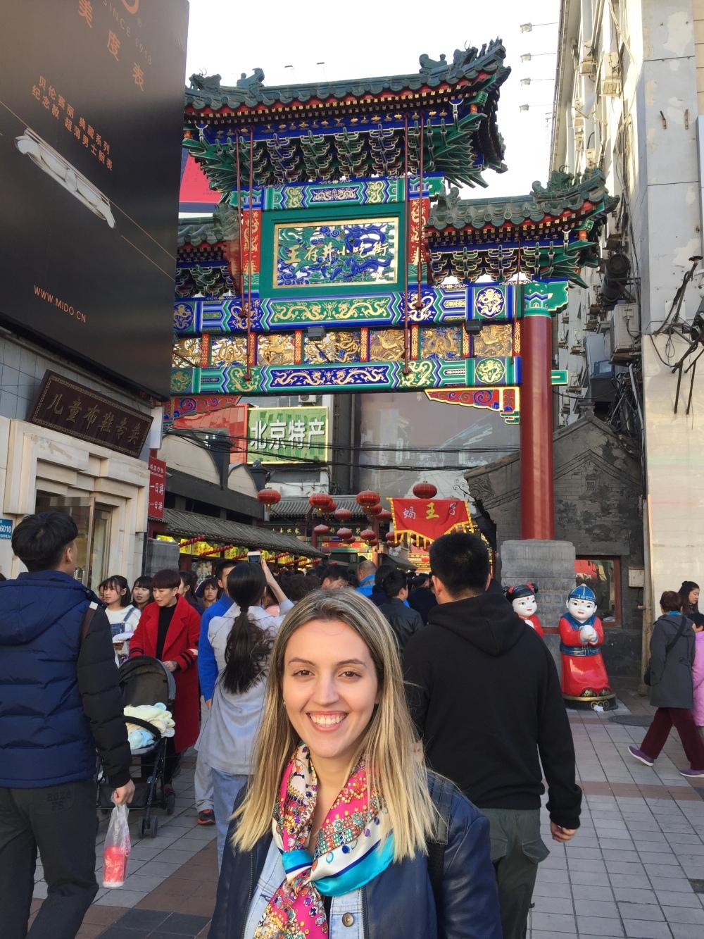 Wangfujing Street, China, Eating in China, Beijing