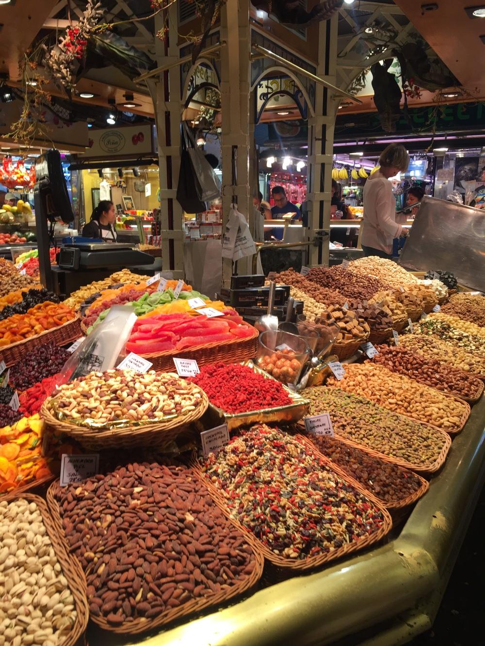 Mercado La Boquería, Barcelona, Especiarias
