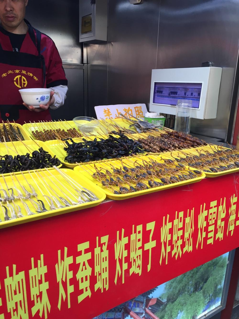 Beijing, China, Comer na china, inseto