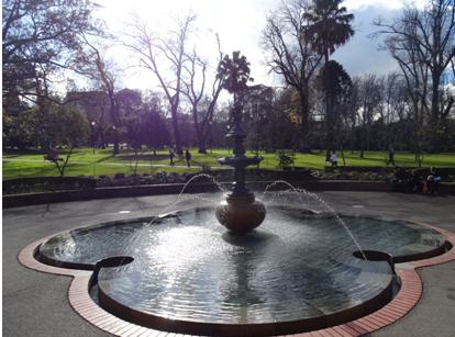 Parque e jardim de Melbourne, Fitzroy Gardens