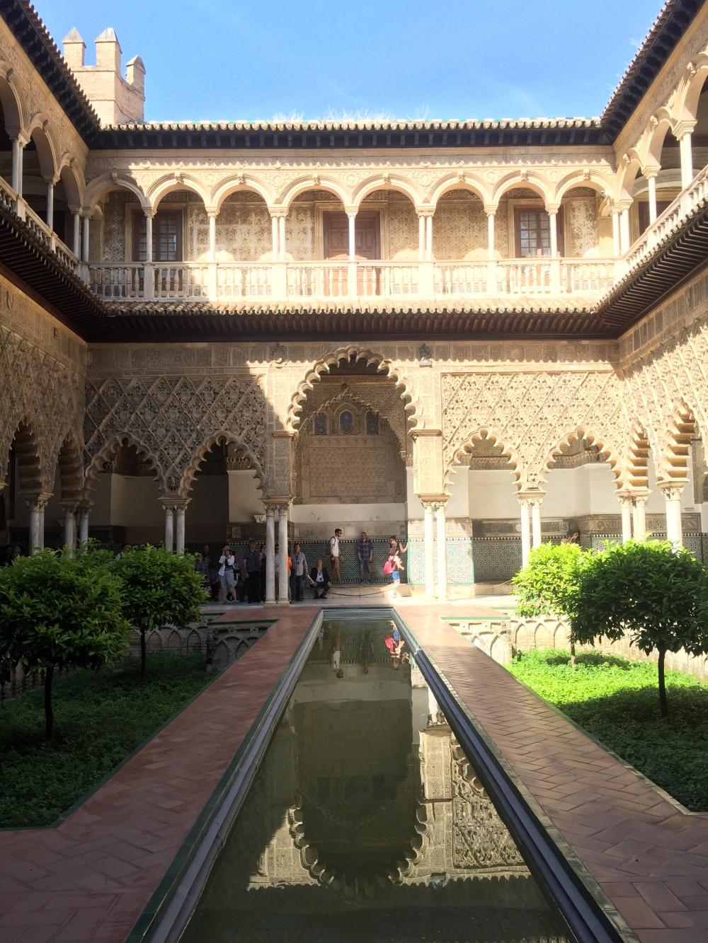 Real Alcázar é parada obrigatória em Sevilla