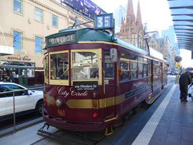 Australia, Melbourne, Free Walking Tout, Train