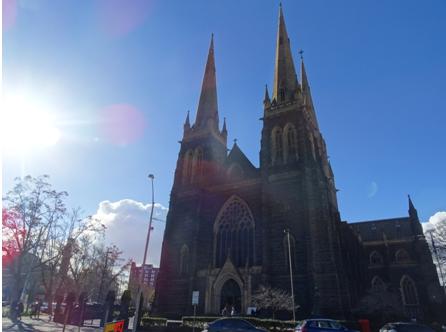 St Patricks Cathedral em Melbourne, Australia
