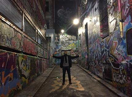Melbourne Street Art em Melbourne. Grafite na Austrália