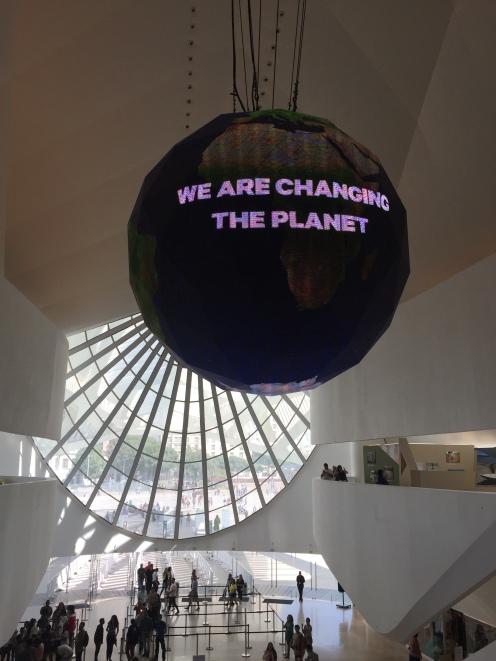 Nós estamos mudando o planeta