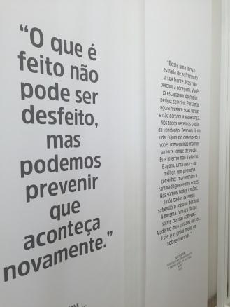 O que é feito não pode ser desfeito. Relato no Rio de Janeiro