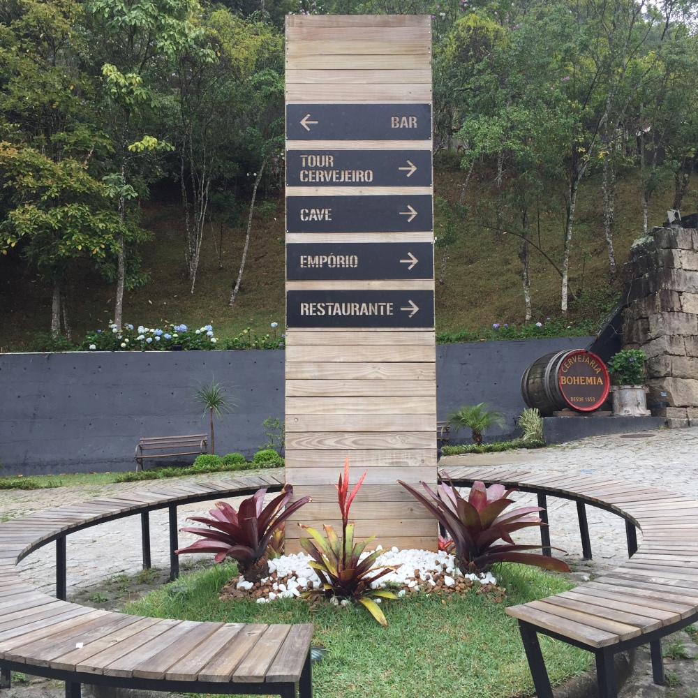 Em Petrópolis,tour da cerveja