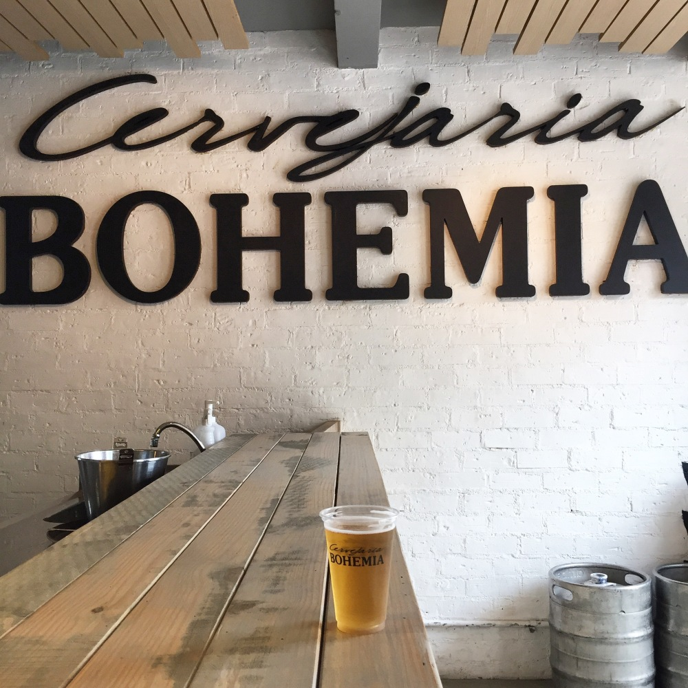 Visita à cervejaria Bohemia