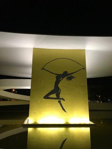A bailarina do Museu