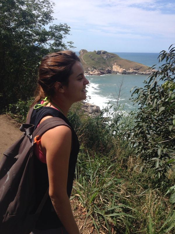 Viajandinha na trilha de Guaratiba
