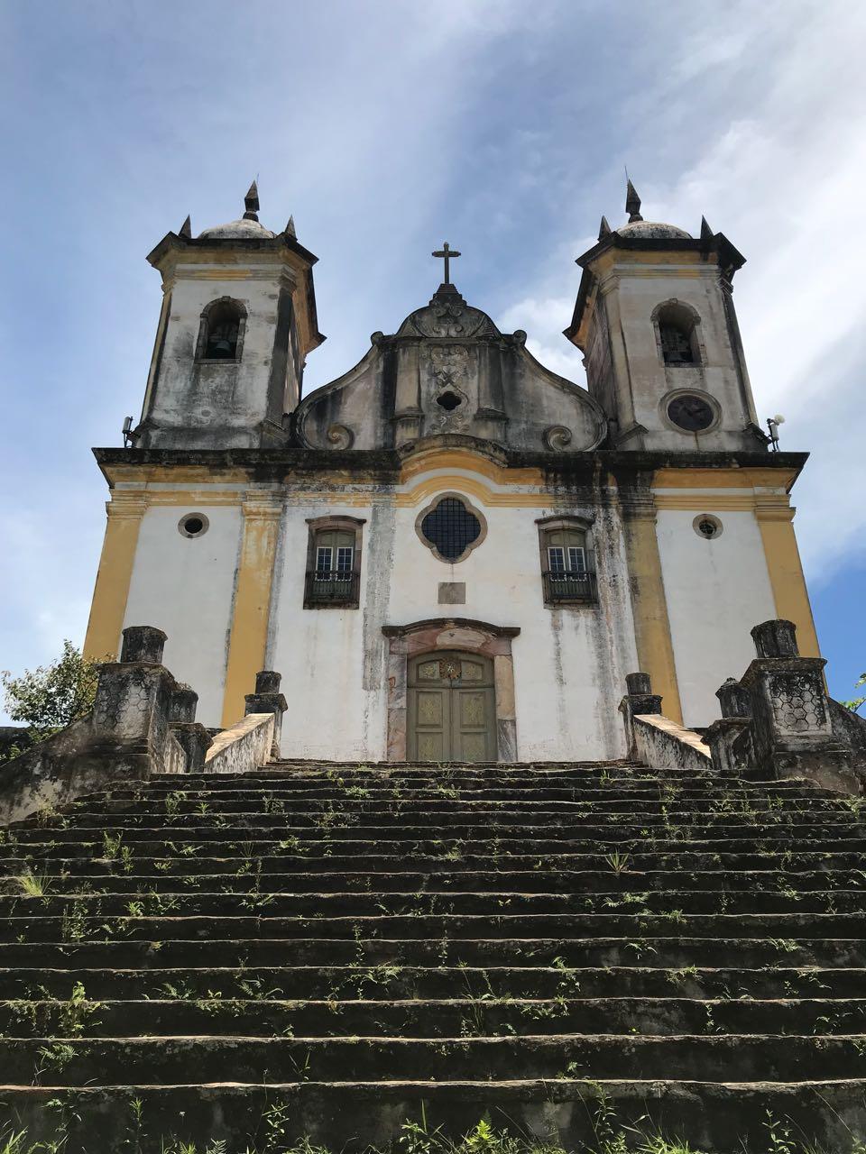 Mirante em Ouro Preto, Minas Gerais