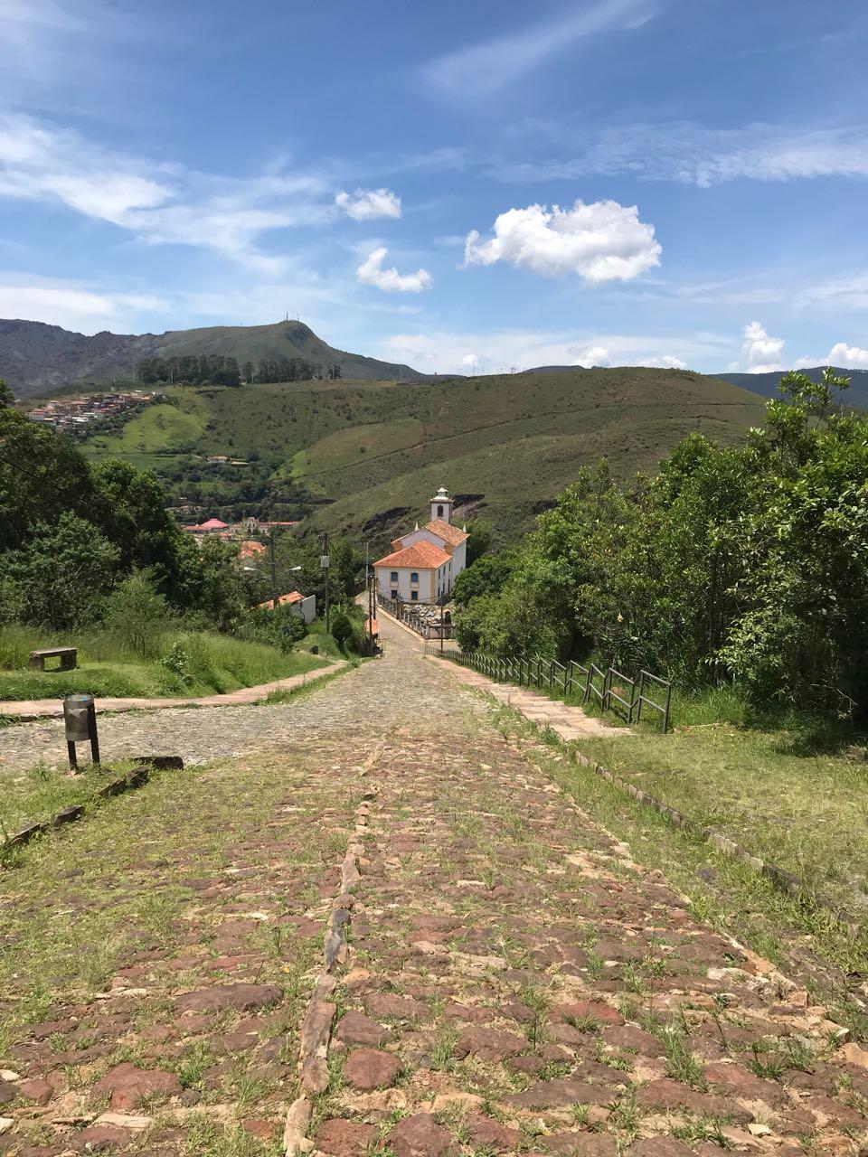 Antiga Vila Rica, atual Cidade Monumento Nacional