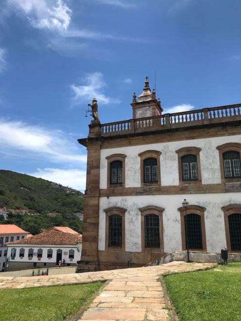 Museu da Inconfidência na Praça Tiradentes