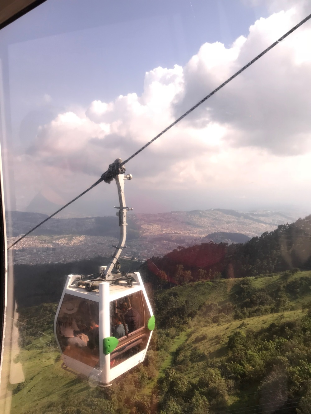 Como chegar no teleférico de Quito