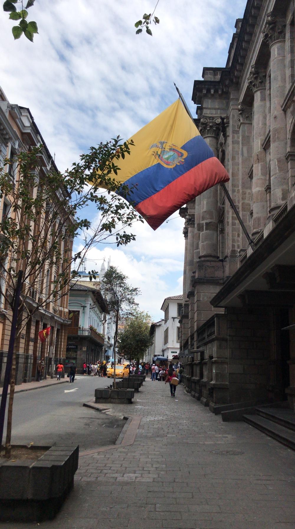 Quito e o centro histórico