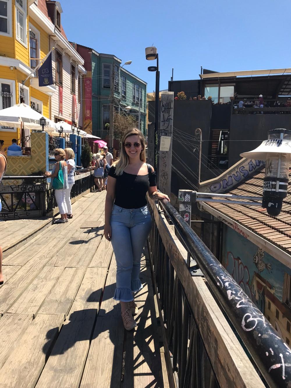 Um dia em Valparaíso no Chile