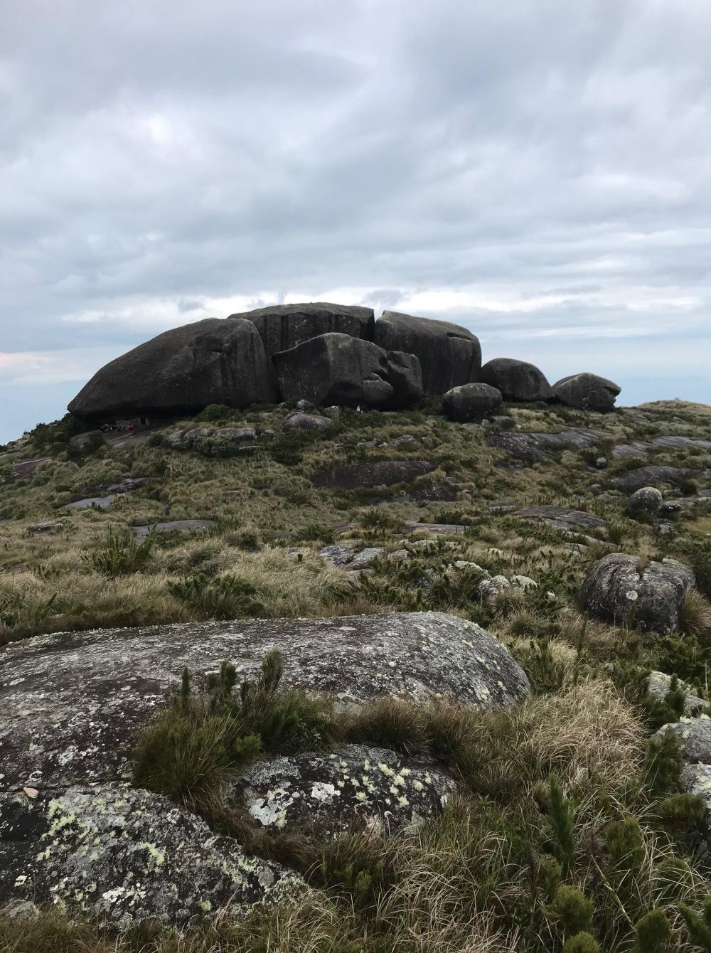 No Morro do Açú essa é a pedra da tartaruga
