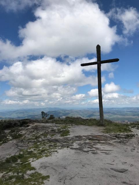 Primeira parada da trilha da Janela do Céu em Ibitipoca