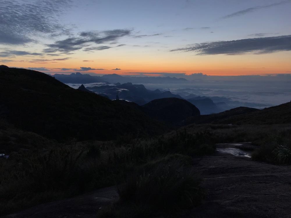Morro do Açú em Petrópolis na travessia