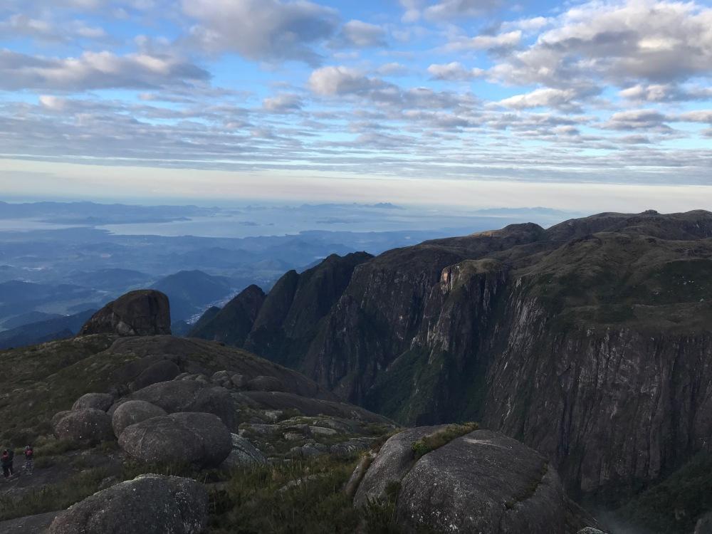 Vista da Baía de Guanabara da Pedra do Sino