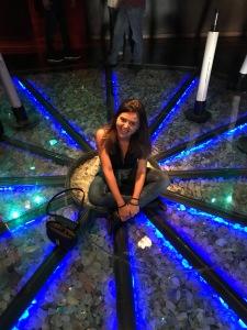 Chão de estrelas do museu da guerdau