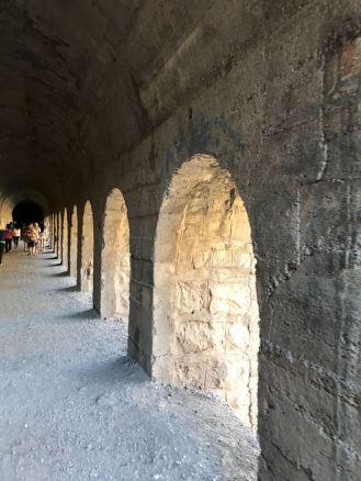 Dentro do túnel