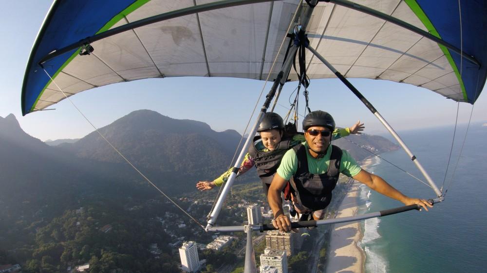 Voo livre de asa delta no Rio de Janeiro, São Conrado