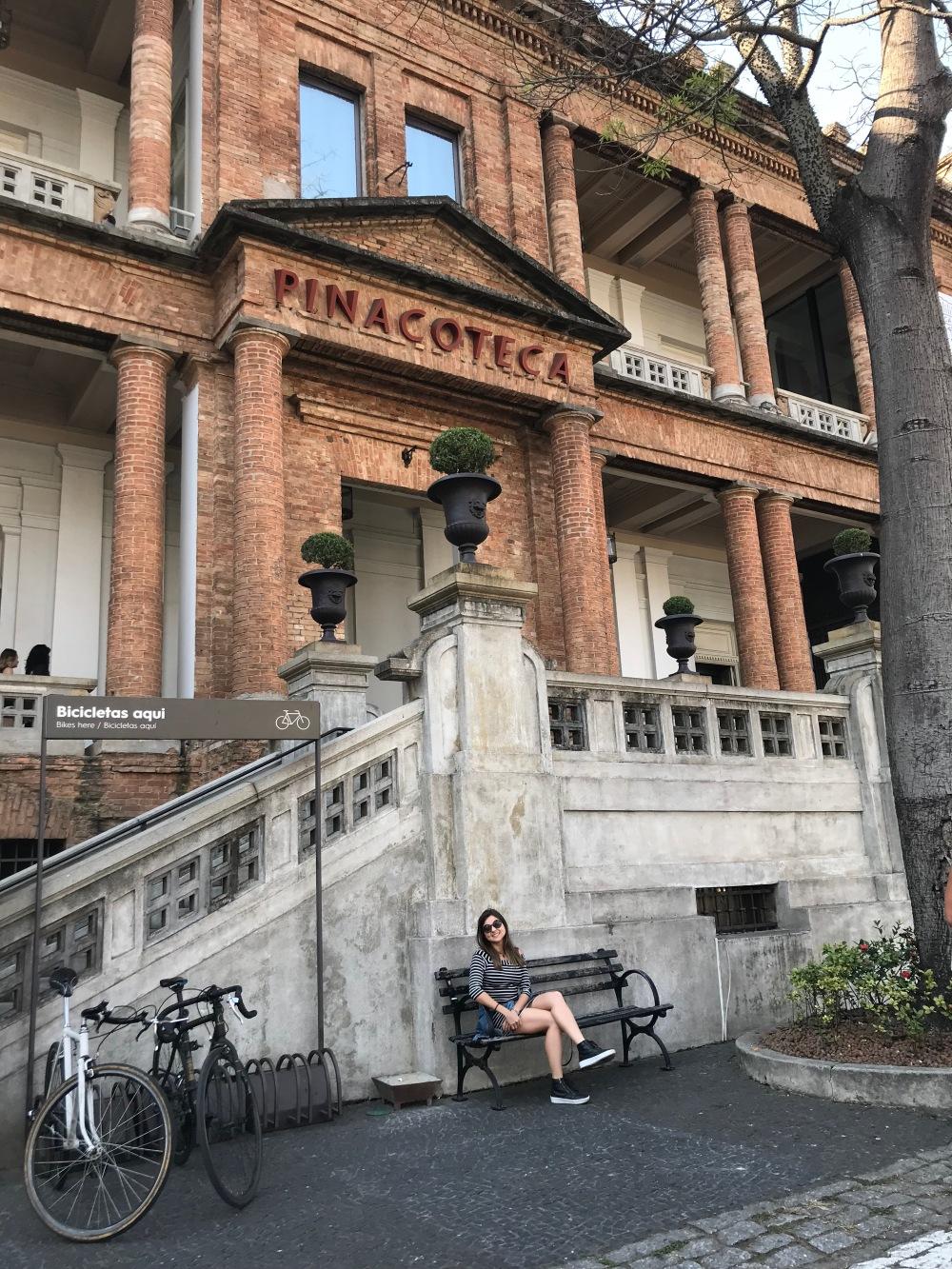 Viajandinhas na Pinacoteca de São Paulo
